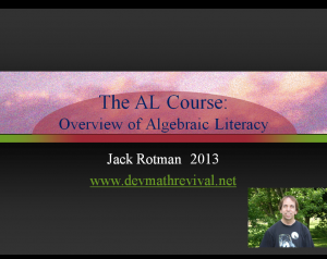 Alg Lit Overview 2013  Cover Image