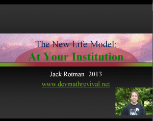 New Life at Your Institution Cover Image